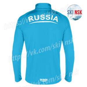 Беговая кофта SkiNsk голубая