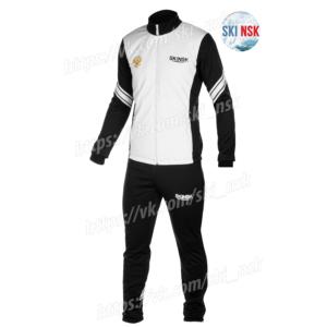 Разминочный костюм SKINSK чёрно-белый