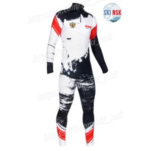 Гоночный костюм SKINSK разброс цвета черный