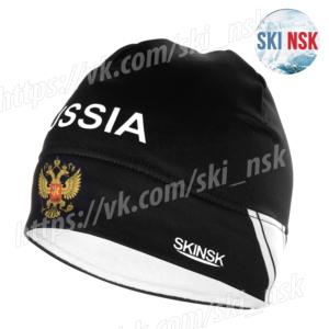 Шапка лайкра-флис чёрная SkiNsk