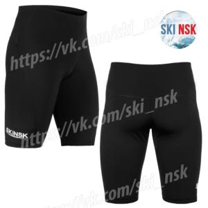 Компрессионные шорты чёрные SkiNsk