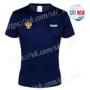 Футболка SkiNsk тёмно-синяя