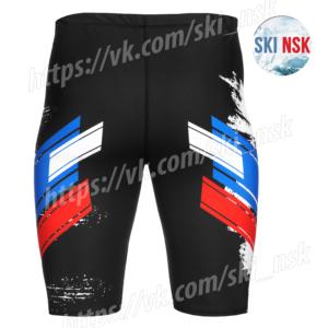 Летний беговой комплект чёрный SkiNsk