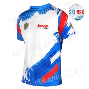 Летний беговой комплект голубой SkiNsk
