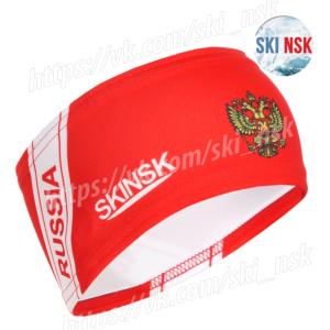 Повязка красная SkiNsk