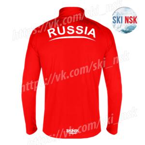 Беговая кофта красная SkiNsk
