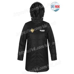 Куртка зимняя SkiNsk черная тёплая