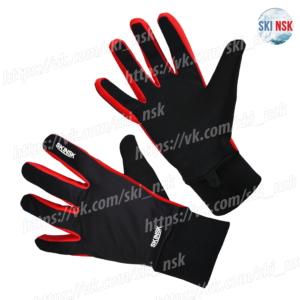 Гоночные перчатки SkiNsk красные